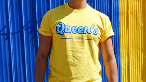 Yellow Queens T-Shirt