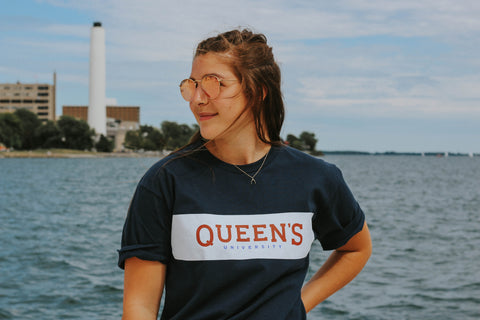 Queen's Navy T-Shirt