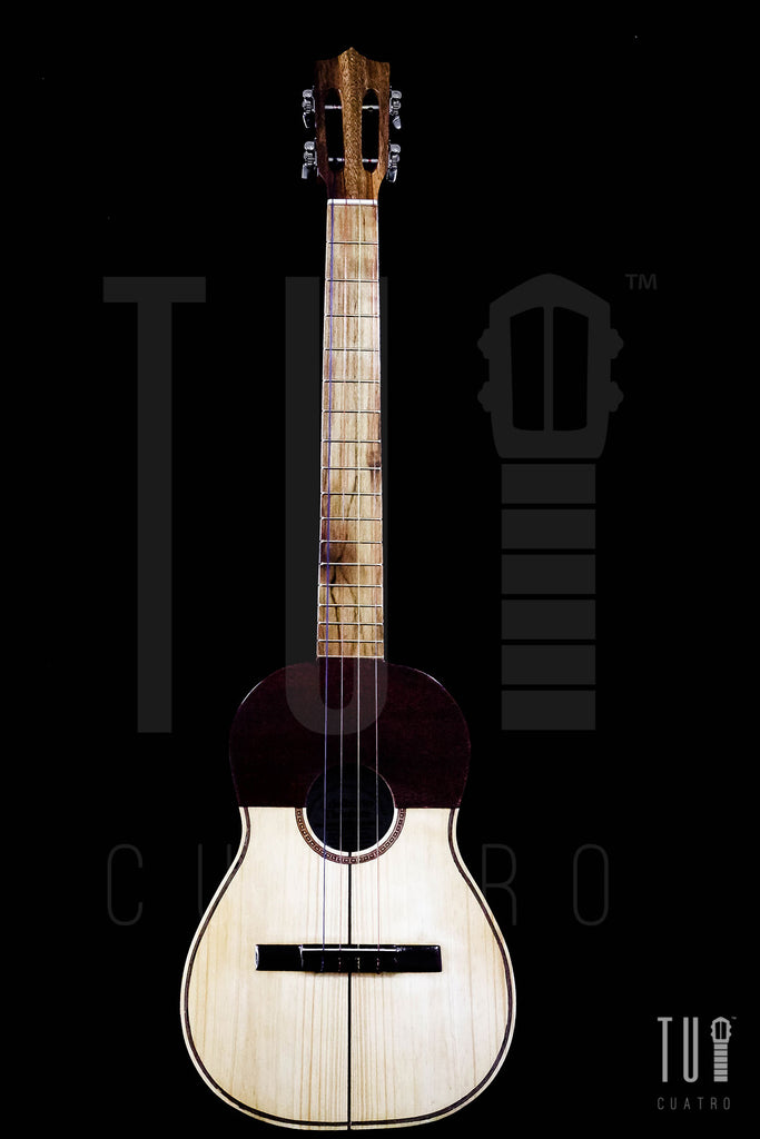 Cuatro 17 Frets - Saman Woods With Shipping