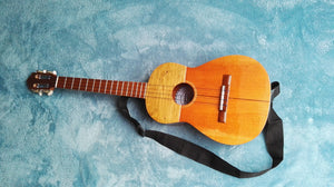 EUROPE OFFER ONLY - REFURBISHED Cedar & Pine 15 Fret Cuatro with Strap