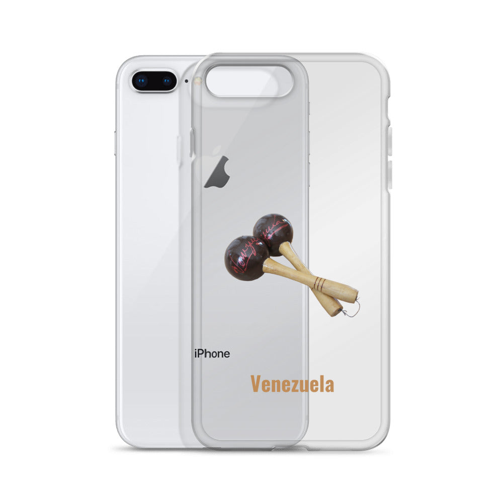 Venezuela & Maracas iPhone Case