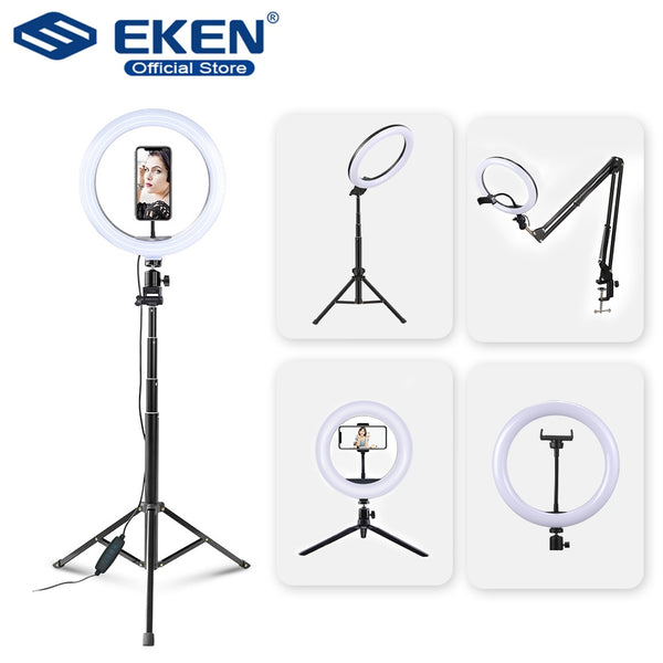 Selfie Ring Light con Tripod para Músicos - Graba Covers para Youtube y videos musicales para Social Media