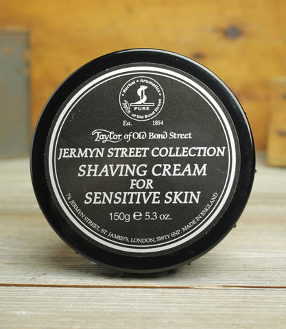 Jermyn St. Collection Shaving Cream for Sensitive Skin