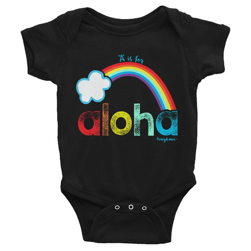 Tony & Mei - A if for Aloha (Onesie/Tee)