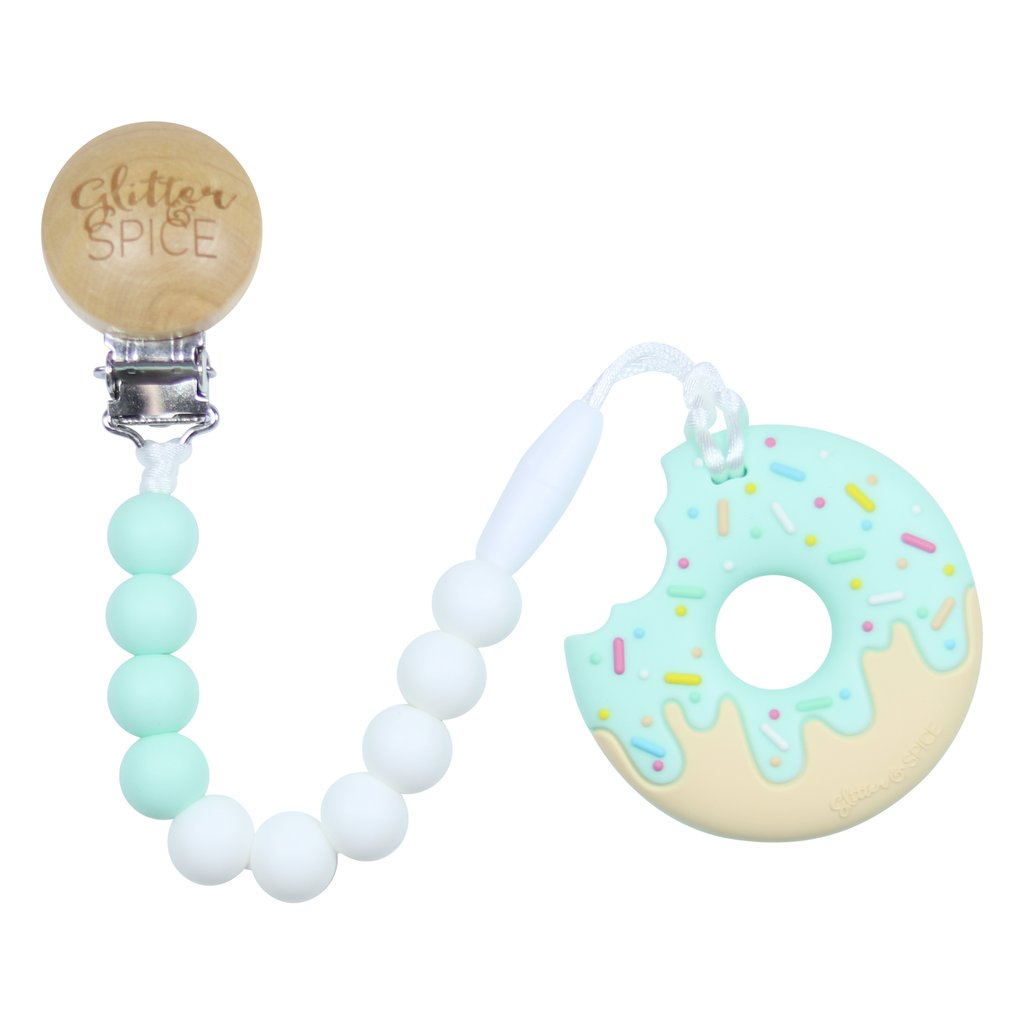 Glitter Spice - Donut Teether