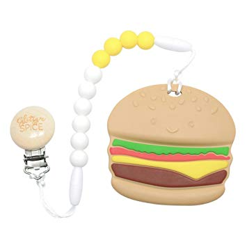 Glitter Spice - Burger Teether