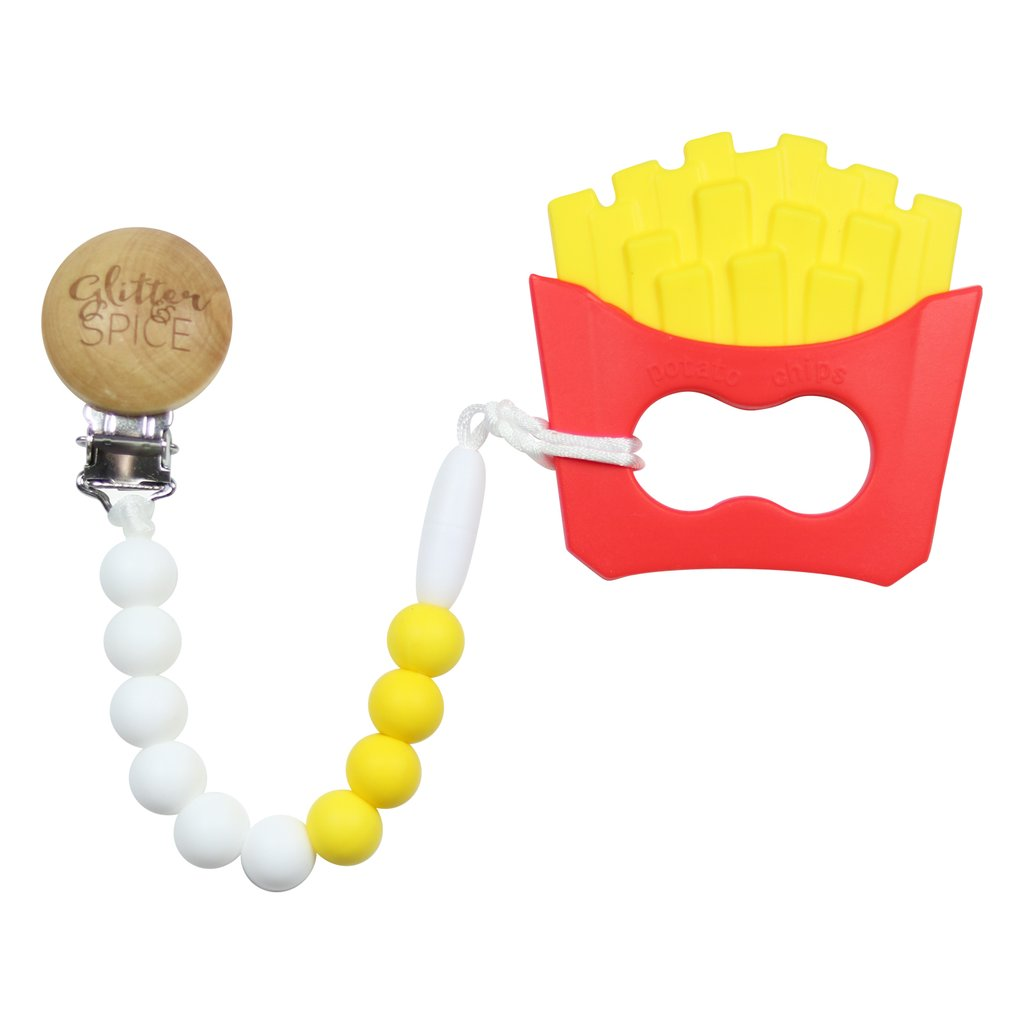 Glitter Spice | French Fry Teether