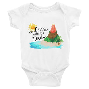 Tony & Mei - In Lava with Dada (Onesie/Tee)