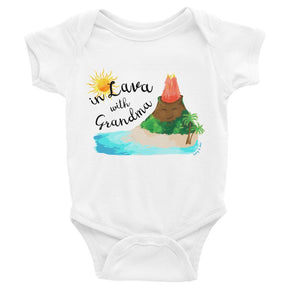 Tony & Mei - In Lava with Grandma (Onesie/Tee)