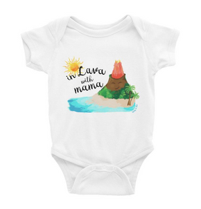 Tony & Mei - In Lava with Mama (Onesie/Tee)