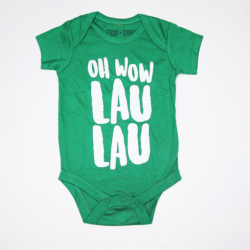 Sticks and Stones - Oh Wow Lau Lau (Onesie/Tee)