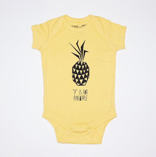 Sticks and Stones - P is for Pineapple (Onesie/Tee)