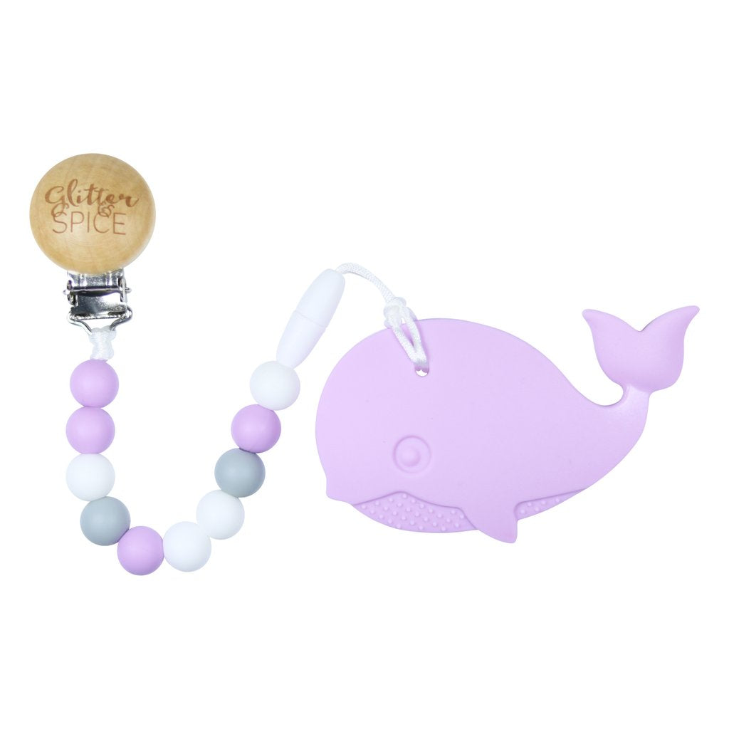 Glitter Spice | Whale Teether