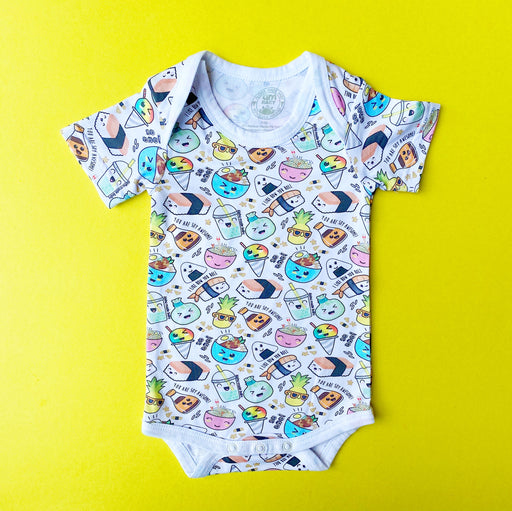 Aloha Baby Made | Local Foods Onesie
