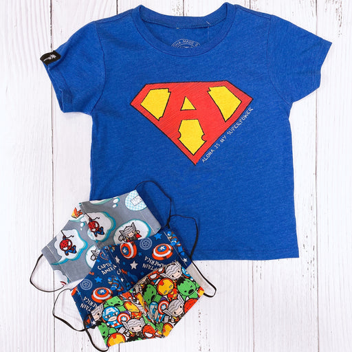 Aloha Made Baby | Aloha Is My Superpower Tee (Multiple Colors)