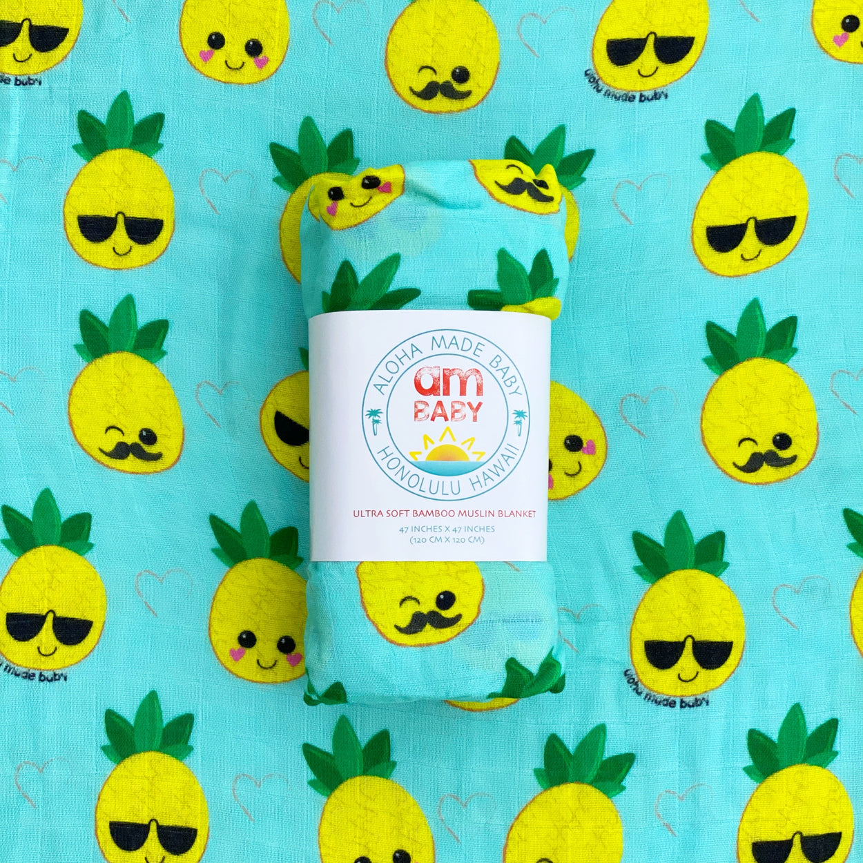 Pineapple cutie swaddle
