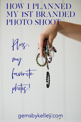 how to plan branded photo shoot jewelry designer