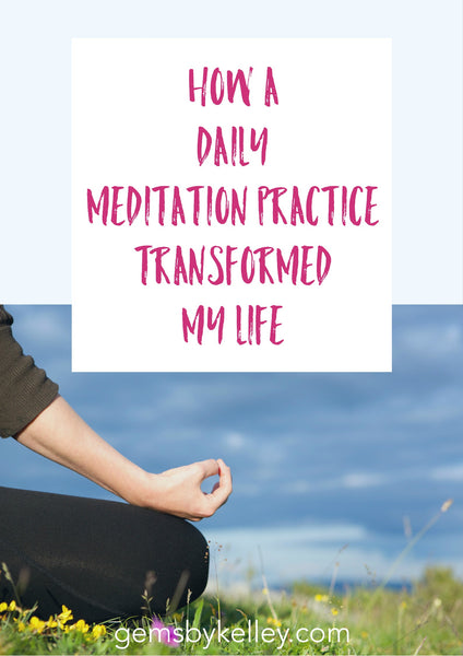 Curious about meditation? A 10-15 minute daily meditation practice changed my life.