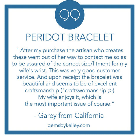 positive testimonial for gems by kelley