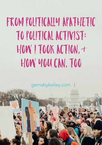 I'd like to thank Donald Trump for this much: I've become a political activist. How I took action, and how you can, too. Lots of ideas for quick actions and resources to resist Trump.