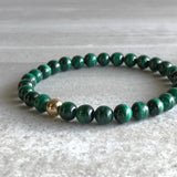 Genuine malachite jewelry