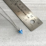 Custom length pendant necklace