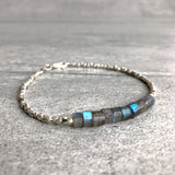 Labradorite and silver jewelry