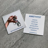 Healing metaphysical properties of amethyst crystal jewelry meaning of amethyst gemstone Gems by Kelley
