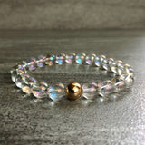Clear crystal quartz beaded jewelry