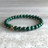 Stackable gemstone bracelets