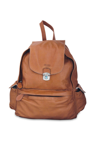 <h5>Daybag Çanta <br> Leather Backpack </h5> <h6>Taba / Tan<br>di-D01-01</h6>