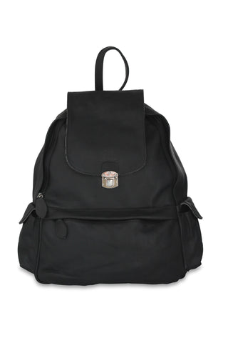 <h5>Daybag Çanta <br> Leather Backpack </h5> <h6>Siyah / Black<br>di-D01-03</h6>