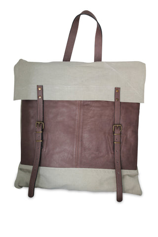 <h5>Safari-A Sırt Çanta<br>Canvas Backpack</h5><h6>Bej / Beige<br>di-SA02-01</h6>