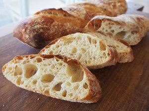 Basic white: a perfect recipe for baguettes