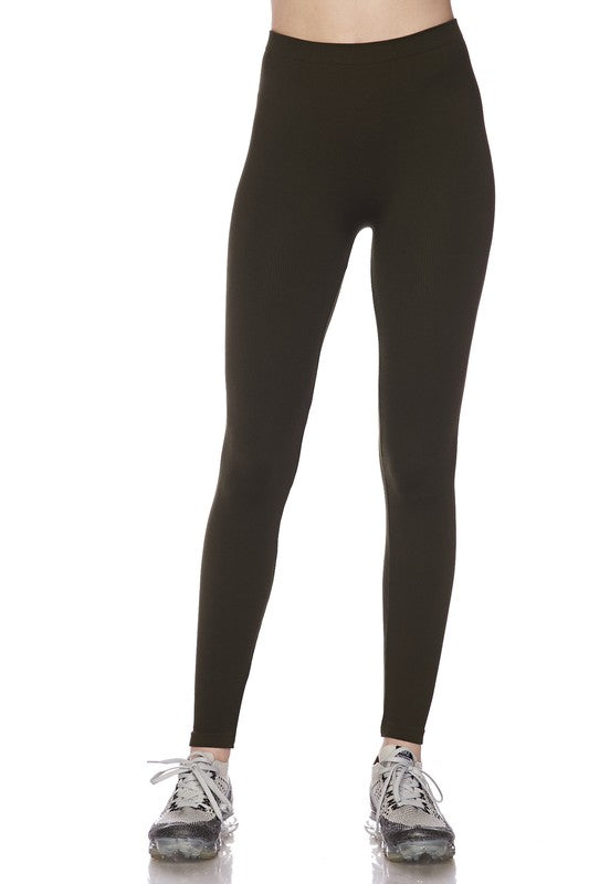 Solid Seamless Legging