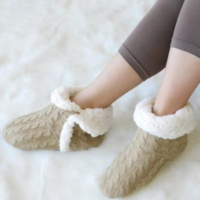 Cable Knit Slippers (additional colors)