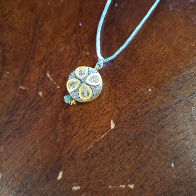 CORDED PENDANT NECKLACE
