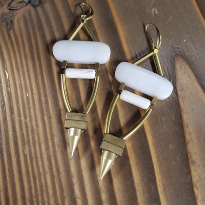 ARTISAN HOOK EARRINGS