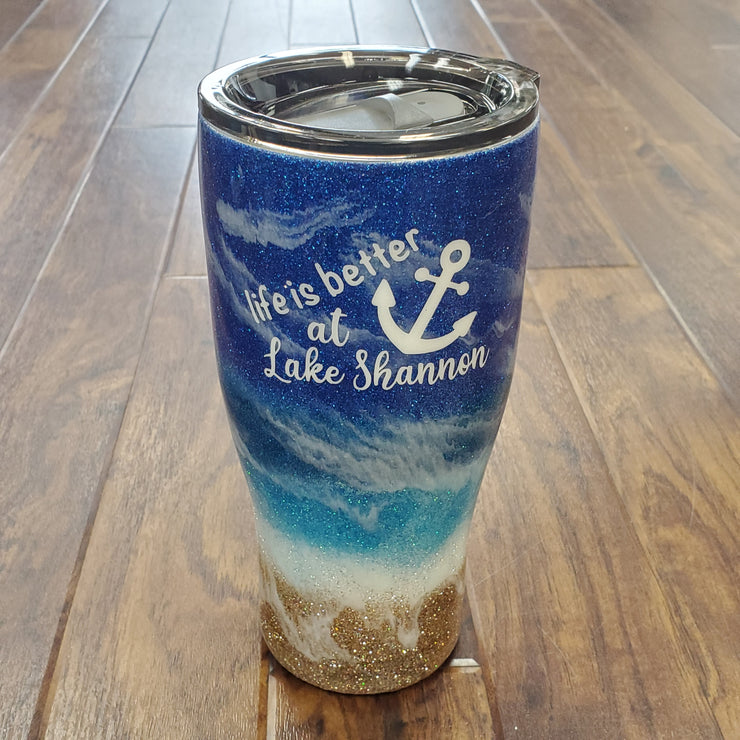 LIFE IS BETTER AT... TUMBLER (additional lakes available)