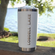 Lake Tumbler - White (additional designs)