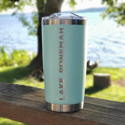 Lake Tumbler - Seafoam (additional designs)