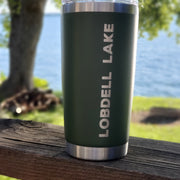 Lake Tumbler - Olive (additional designs)