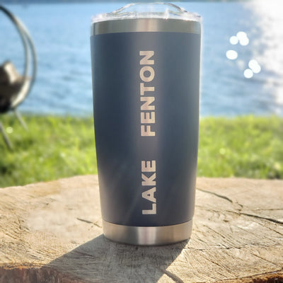 Lake Tumbler - Blue (additional designs)