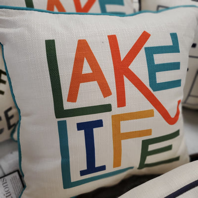 Lake Life Pillow