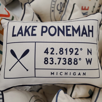 Lake Ponemah Grid Coordinates