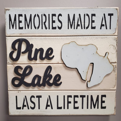 Memories At Pine Lake