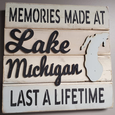 Memories At Lake Michigan