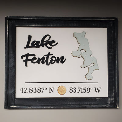 Framed Lake Fenton