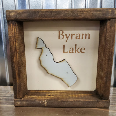 Framed Bryam Lake