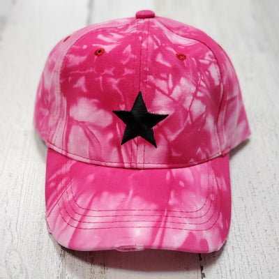 Boardwalk Cap - Pink Tie Dye